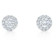 Tiffany Soleste Ohrringe in Platin mit Diamanten