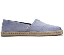 Schuhe Blaue Herzen Espadrilles