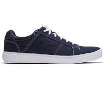 Schuhe Blaue Canvas Leandro Sneaker