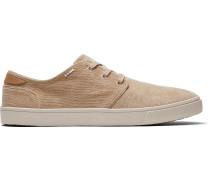 Schuhe Braune Corduroy Carlo Sneakers