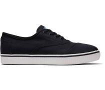 Schuhe Schwarze Canvas Indio Cordones