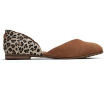Schuhe Leopard Wildleder Julie D'orsay Ballerinas