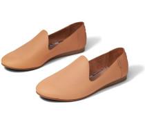 Schuhe Braune Leder Darcy Ballerinas