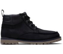 Schwarze Wasserdichte Suede Hawthorne Stiefel