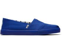 Schuhe Blaue Canvas Cupsole Alpargatas