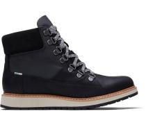 Schwarze Wasserdichte Leder Mesa Stiefel