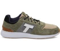 Schuhe Grün Shaggy Nubuck Arroyo Sneaker
