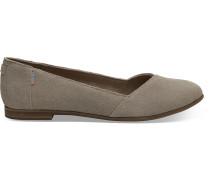 Schuhe Taupe Suede Julie Ballerinas