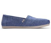 Schuhe Blaue Repreve Recycled Classics