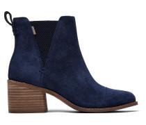 Schuhe Blaue Suede Esme Stiefeletten