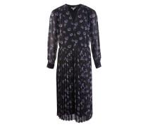 Pleated midi-dress