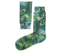 Bedruckte Socken Jungle