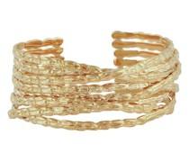 Goldenes Manschettenarmband Liane