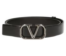 Gürtel mit V-Logo H30 Valentino Garavani