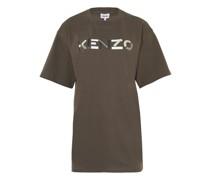 Oversize-T-Shirt mit Logo