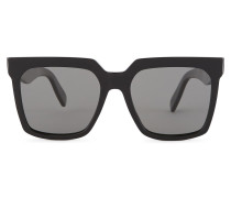 Sonnenbrille Oversized aus Acetat mit polarisierten Gläsern