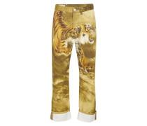 Jeans mit Tigerprint