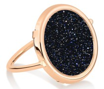 Ring Ajna Blue Sand Stone