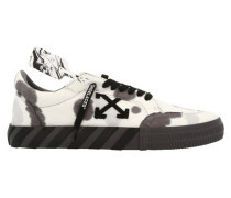 Low-Sneakers Vulcanized mit Tie-Dye-Design