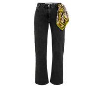 Jeans mit Tuch