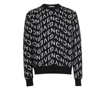 Pullover Givenchy mit All-over-Logo