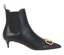 Valentino Garavani - Stiefel  mit Logo