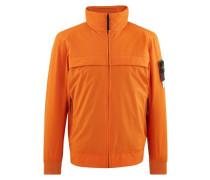 Zipped coat