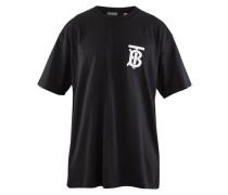 Oversize-T-Shirt mit Monogrammmotiv
