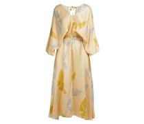 """Langes Kleid mit """"Papillons gitans""""-Aufdruck"""