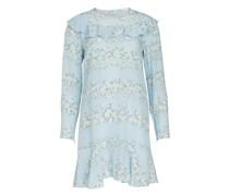 Kurzes bedrucktes Kleid