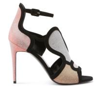 Patch sandals