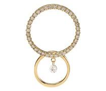 Mono-Ohrring Bonnie mit einem Diamanten