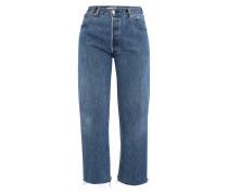 Jeans Ultra High Rise Wide Leg Crop