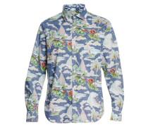Bedrucktes Hawaiihemd