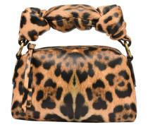 Clutch mit Leopardprint