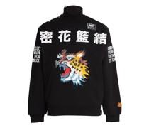 x KANSAIYAMAMOTO - Sweatshirt mit Motivprint