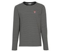 Gestreiftes T-Shirt Ami De Cœur