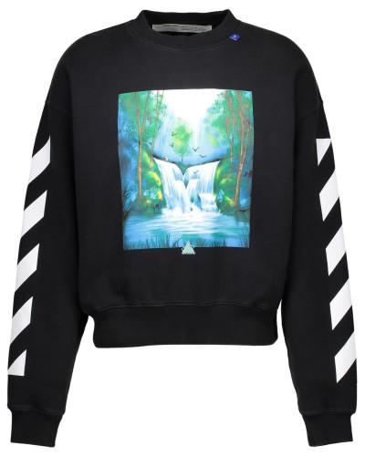 Sweatshirt mit Aufdruck Waterfall