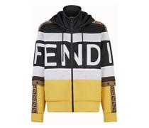 Sweatshirt Aus Acetat In Mehrfarbig