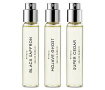 Die holzige Auswahl – Eau de Parfum 3x12 ml