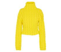 Pullover mit hohem Kragen und langen Ärmeln