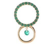 Mono-Ohrring Bonnie mit einem Smaragd
