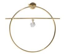 Mono-Ohrring Fibule Größe M – ein Diamant