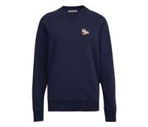 Sweatshirt mit Patch Chillax Fox