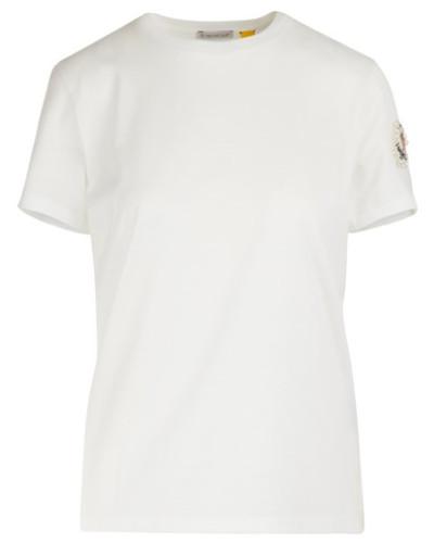 Moncler x Simone Rocha - T-Shirt mit Logo
