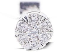 Ring Floating Nylon mit sieben Diamanten