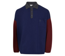 Oversize-Pullover Poloneck