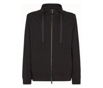 Sweatshirt Aus Jersey In Schwarz