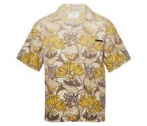Bedrucktes kurzärmeliges Hemd
