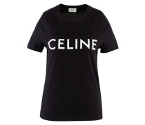 Jersey t-shirt with Celine print